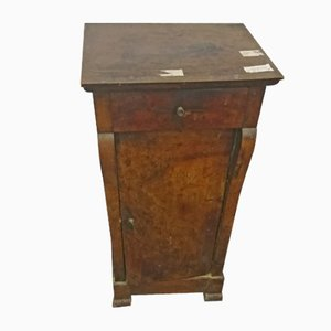Small Antique Walnut Commode