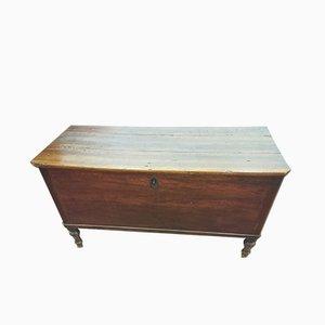 Cassettiera antica in legno di abete