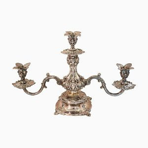 Antique Silver Plate Candleholder from Reed & Barton, 1880s