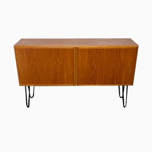 Teak Sideboard on Hairpin Legs from Omann Jun, 1960s