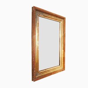 Vintage Spiegel mit Rahmen aus Holz