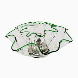 Lampada da soffitto in vetro di Murano di Renato Toso, Italia, anni '60