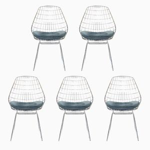 Vintage SM05 Chairs by Cees Braakman for Pastoe, 1950s, Set of 5