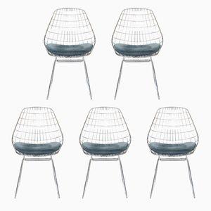 Vintage SM05 Stühle von Cees Braakman für Pastoe, 1950er, 5er Set