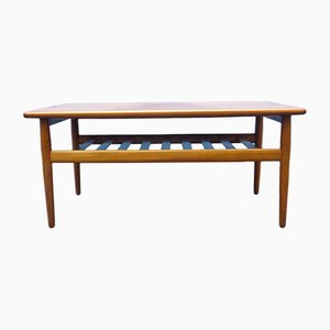 Danish Coffe Table by Grete Jalk for Glostrup, 1960s