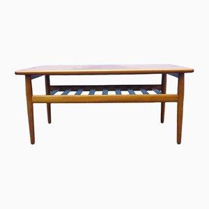 Table Basse par Grete Jalk pour Glostrup, Danemark, 1960s