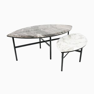 Tables Basses Book One & Two par Artefatto Design Studio pour SECOLO, Set of 2