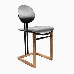 Chaise de Salle à Manger Luna par Artefatto Design Studio pour SECOLO