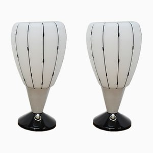 Table Lamps from Drukov, 1950s, Set of 2