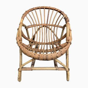Children's Rattan Armchair