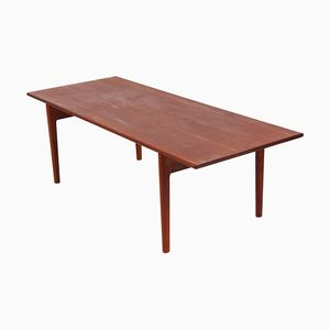 Teak AT15 Coffee Table by Hans J. Wegner for Andreas Tuck, 1960s