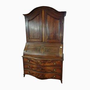 Mobile antico in legno di noce massiccio