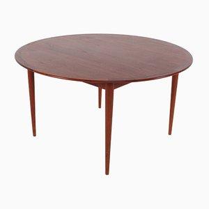 Runder Mid-Century Tisch von Arne Vodder für Sibast, 1960er