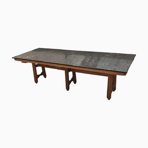 Table Large Gustave Vintage par Guillerme et Chambron pour Votre Maison