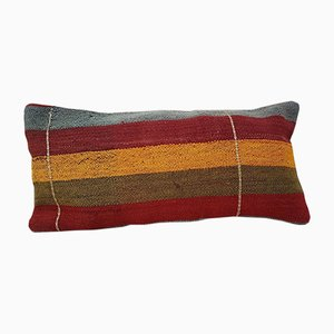 Rainbow Kelim Kissenbezug von Vintage Pillow Store Contemporary, 2010er