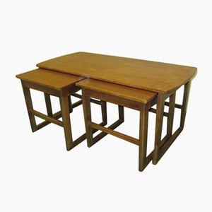 Tavolino da caffè Mid-Century in teak