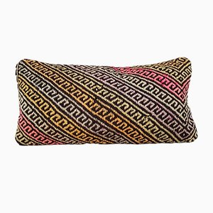 Rustic Turkish Kilim Throw Pillow Cover from Vintage Pillow Store Contemporary, 2010s