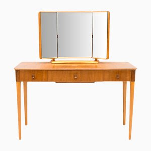 Walnut Dressing Table by Gordon Russell, 1950s