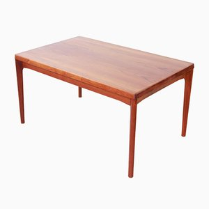Teak Dining Table by Henning Kjaernulf for Vejle, 1950s
