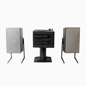 Atelier 3 HiFi Stereo- & L715 Lautsprecherset von Dieter Rams für Braun, 1984