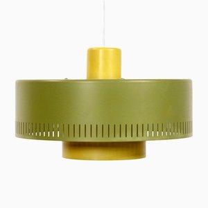 Lampe à Suspension Metro Mid-Century par Johannes Hammerborg pour Fog & Mørup
