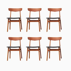 Danish Dining Chairs from Farstrup, 1960s, Set of 6