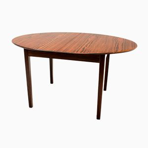 Danish Rosewood Extending Dining Table by Bordum & Nielsen, 1950s