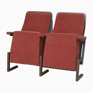 Seduta da cinema a due posti vintage
