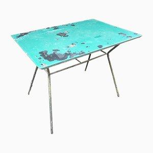 Vintage Gartentisch aus Eisen