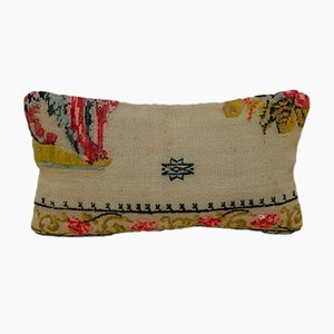 Aubusson Kelim Kissenbezug von Vintage Pillow Store Contemporary, 2010er