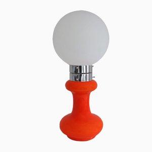 Tischlampe aus Muranoglas von Carlo Nason für Mazzega, 1970er