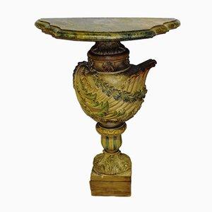 Table Console Colonne Style Vénitien, 1930s