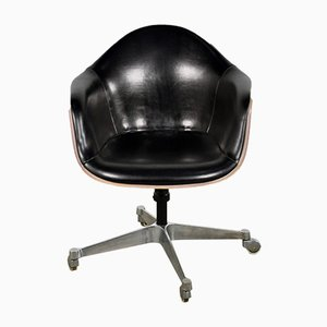 Leather Office Chair by Charles & Ray Eames for Herman Miller, 1970s