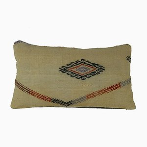 Turkish Kilim Lumbar Cushion Cover from Vintage Pillow Store Contemporary, 2010s