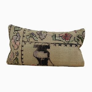 French Woven Needlepoint Pillow from Vintage Pillow Store Contemporary, 2010s