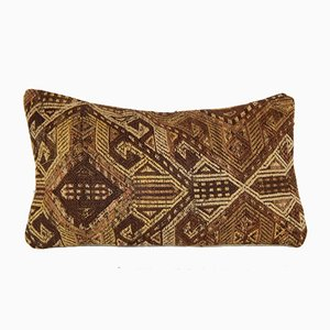 Kilim Lumbar Cushion Cover from Vintage Pillow Store Contemporary, 2010s