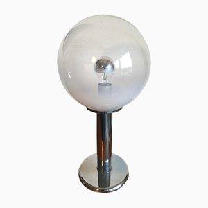 Lámpara de mesa Sankey italiana vintage de cristal de Murano de Targetti