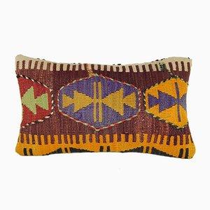 Funda de cojín tejida a mano de vintage Pillow Store Contemporary