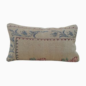 Aubusson Floral Tapestry Cushion Cover from Vintage Pillow Store Contemporary, 2010s