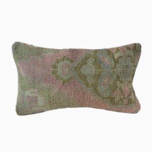 Funda de cojín Oushak tejida a mano de Vintage Pillow Store Contemporary