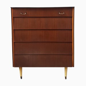 Mid-Century Teak Chest Drawers from Avalon