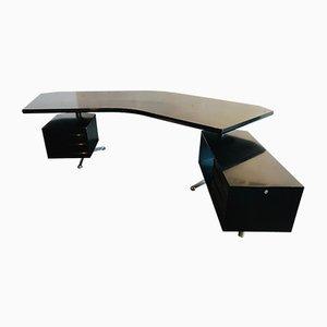 T96 Schreibtisch in Bumerang-Optik von Osvaldo Borsani für Tecno, 1950er