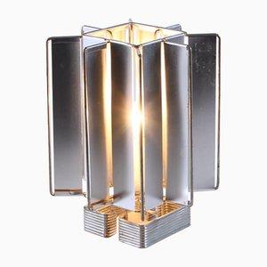 Lámpara de mesa Sirius de aluminio de Max Sauze para Max Sauze Studio, años 70