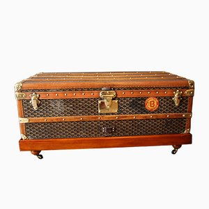 Baúl de viaje vintage de Goyard, años 30