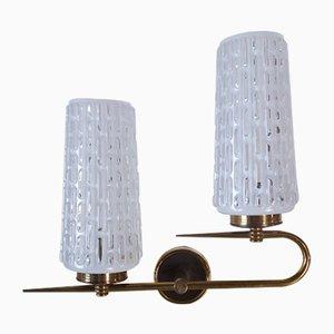 Lámpara de pared vintage, años 60