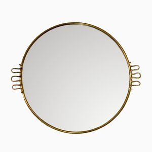 Mid-Century Golden Mirror