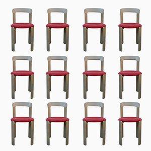 Chaises Vintage par Bruno Rey pour Kusch & Co, Set de 12