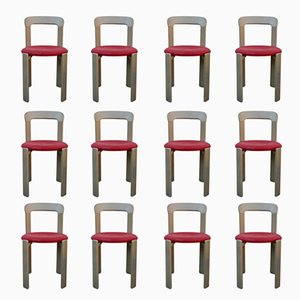 Vintage Chairs by Bruno Rey for Kusch & Co, Set of 12