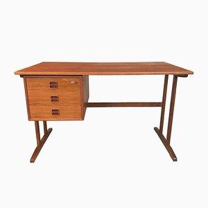 Freistehender Vintage Schreibtisch aus Teak von Arne Vodder, 1960er
