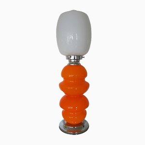 Lámpara de pie de cristal de Murano de Carlo Nason para Mazzega, años 70